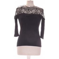 Vêtements Femme Tops / Blouses Asos Top Manches Courtes  36 - T1 - S Noir