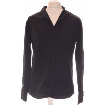 Vêtements Homme Chemises manches longues Jules Chemise Manches Longues  36 - T1 - S Noir