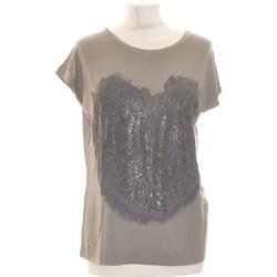 Vêtements Femme Tops / Blouses Apostrophe Top Manches Courtes  36 - T1 - S Gris