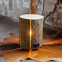 Maison & Déco Lampes à poser Retro Wood Light - Bois de frêne Taille M - Eco-Friendly Marron