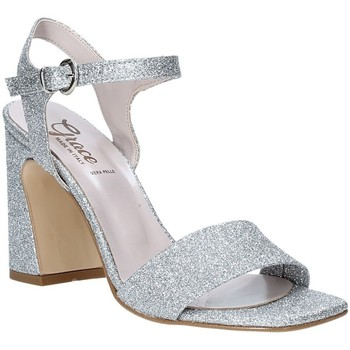 Chaussures Femme Sandales et Nu-pieds Grace Shoes 2384002 Argent