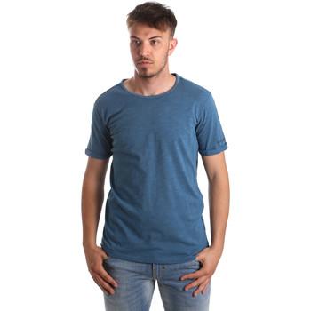 Vêtements Homme T-shirts & Polos Gaudi 911BU64027 Bleu