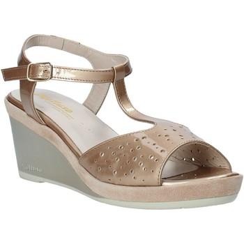 Chaussures Femme Sandales et Nu-pieds Melluso HR70520 Orange