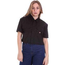Vêtements Femme Chemises / Chemisiers Dickies DK0A4XE1BLK1 Noir