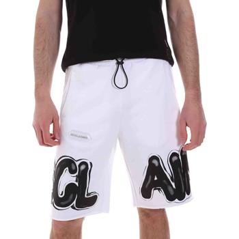 Vêtements Homme Shorts / Bermudas Disclaimer 21EDS50615 Blanc