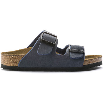Chaussures Enfant Mules Birkenstock 552903 Bleu