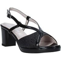 Chaussures Femme Sandales et Nu-pieds Valleverde 46373 Noir