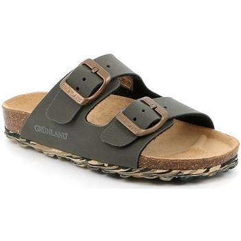 Chaussures Enfant Mules Grunland CB2651 Vert