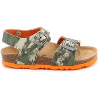 Chaussures Enfant Sandales et Nu-pieds Grunland SB1226 Vert