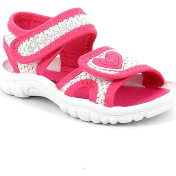 Chaussures Fille Sandales et Nu-pieds Grunland PS0060 Rose