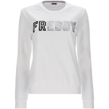 Vêtements Femme Sweats Freddy S1WCLS4 Blanc