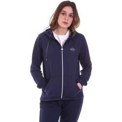Vêtements Femme Sweats Key Up 5F741 0001 Bleu