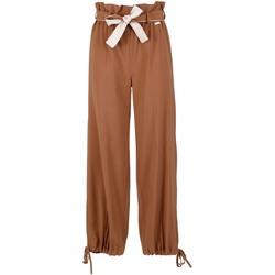 Vêtements Femme Pantalons fluides / Sarouels Café Noir JP6170 Marron