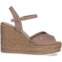 Chaussures Femme Sandales et Nu-pieds Calvin Klein Jeans YW0YW00121 Marron