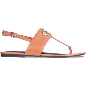 Chaussures Femme Sandales et Nu-pieds Calvin Klein Jeans YW0YW00145 Marron