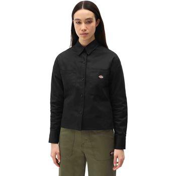 Vêtements Femme Chemises / Chemisiers Dickies DK0A4XETBLK1 Noir