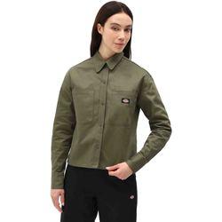 Vêtements Femme Chemises / Chemisiers Dickies DK0A4XETMGR1 Vert