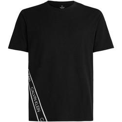 Vêtements Homme T-shirts manches courtes Calvin Klein Jeans 00GMS1K263 Noir