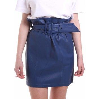Vêtements Femme Jupes Federica Tosi FTE20GO036.0VPELLE Bleu