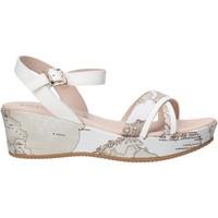 Chaussures Fille Sandales et Nu-pieds Alviero Martini 0641 0910 Blanc