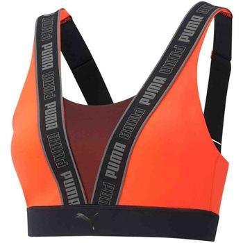 Vêtements Femme Brassières de sport Puma 520401 Orange