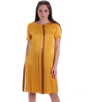 Vêtements Femme Robes courtes Café Noir JA6260 Jaune