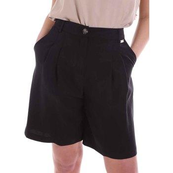 Vêtements Femme Shorts / Bermudas Café Noir JP6030 Noir