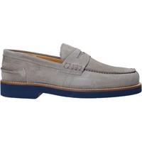 Chaussures Homme Mocassins Exton 2102 Gris