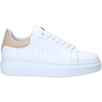 Chaussures Femme Baskets basses Exton 1595 Blanc