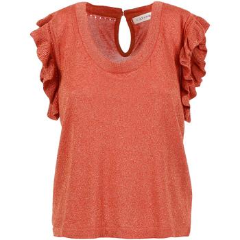Vêtements Femme Tops / Blouses Café Noir JM6190 Rouge