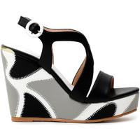 Chaussures Femme Sandales et Nu-pieds Café Noir HE9140 Noir