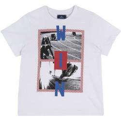 Vêtements Enfant T-shirts manches courtes Chicco 09067134000000 Blanc