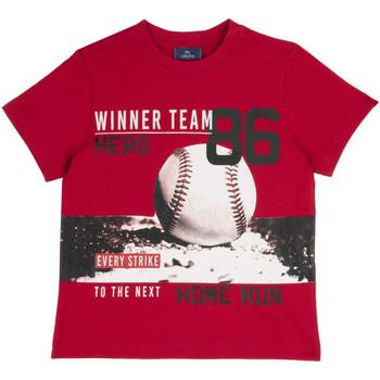 Vêtements Enfant T-shirts manches courtes Chicco 09067134000000 Rouge