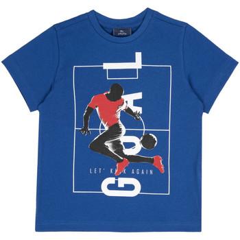 Vêtements Enfant T-shirts manches courtes Chicco 09067134000000 Bleu