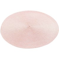 Maison & Déco Set de table 1001Kdo Pour La Maison Set de table rond 35 cm polypropylene zebulon rose