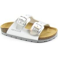 Chaussures Fille Mules Grunland GRU-E21-CB1462-AR-a Metalizzato