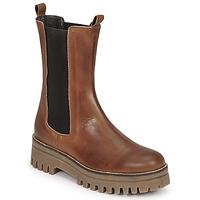 Chaussures Femme Boots Sweet Lemon POLIRA Cognac