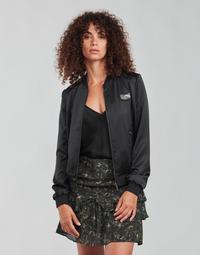 Vêtements Femme Blousons Ikks FANNY Noir / Kaki