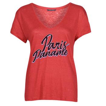 Vêtements Femme T-shirts manches courtes Ikks CARRY Rouge