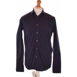 Vêtements Homme Chemises manches longues Nina Ricci Chemise Manches Longues  40 - T3 - L Bleu