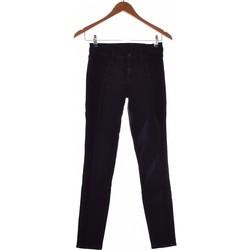 Vêtements Femme Chinos / Carrots 7 for all Mankind Pantalon Slim Femme  34 - T0 - Xs Bleu