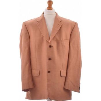 Vêtements Homme Vestes de costume Yves Saint Laurent Veste De Costume  46 - T6 - Xxl Marron