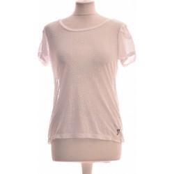 Vêtements Femme Tops / Blouses Lola Espeleta Top Manches Courtes  40 - T3 - L Blanc