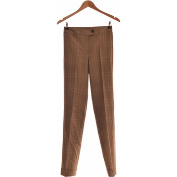 Vêtements Femme Pantalons fluides / Sarouels Moschino Pantalon Bootcut Femme  34 - T0 - Xs Marron