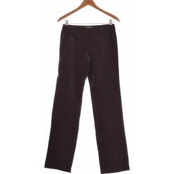 Vêtements Femme Chinos / Carrots Franklin & Marshall Pantalon Droit Femme  36 - T1 - S Gris