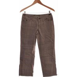 Vêtements Femme Pantacourts Franklin & Marshall Pantacourt Femme  36 - T1 - S Gris