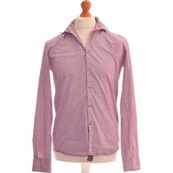 Vêtements Homme Chemises manches longues Galeries Lafayette Chemise Manches Longues  36 - T1 - S Violet