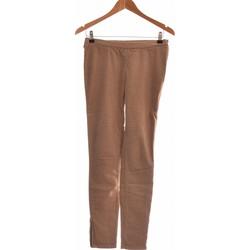 Vêtements Femme Pantalons fluides / Sarouels American Vintage Pantalon Slim Femme  34 - T0 - Xs Marron