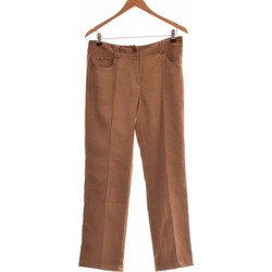 Vêtements Femme Pantalons Un Jour Ailleurs Pantalon Droit Femme  40 - T3 - L Marron
