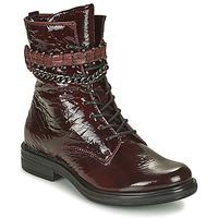 Chaussures Femme Boots Mjus CAFE PATENT Bordeaux